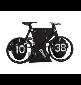 Torre & Tagus Retro Bicycle Flip Motion Clock