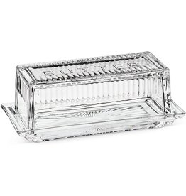 Abbott BUTTER DISH QUARTER LB.  WITH COVER- 7""