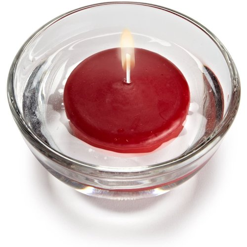 """Abbott Candle Floater LARGE 3"""" - Red"""