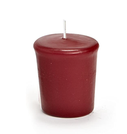 """Abbott Conical Votive Candle 2"""" - Red"""