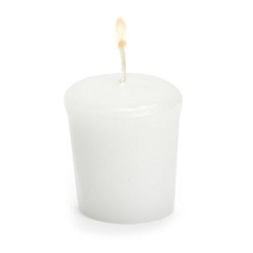 "Abbott Conical Votive Candle 2"" -White"