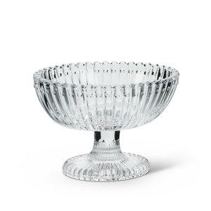 "Abbott Oval Pedestal Dish - 3"""