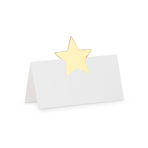 Abbott Placecard Gold Star 12 pc