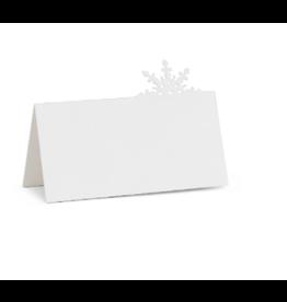Abbott Placecard Snowflake 12 pc