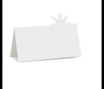 Placecard Snowflake 12 pc