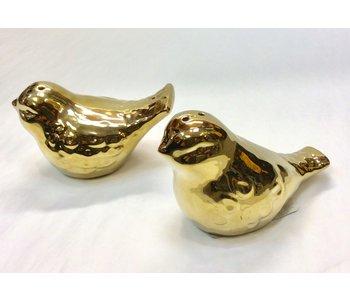 Salt & Pepper LUXE GOLD BIRD