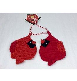 Danica Dishcloth Tawashi Cardinals set of 2