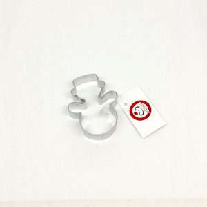 Carol's Nicetys Snowman Cookie Cutter Stainless Steel