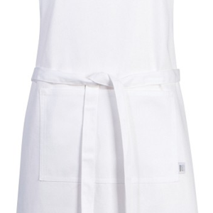 Danica Apron Chef White