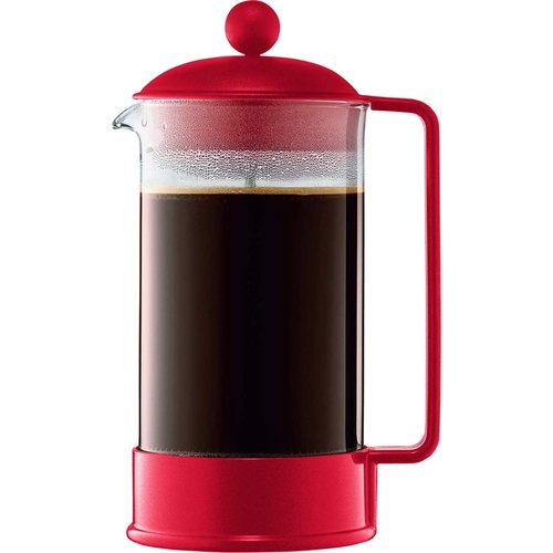 Bodum BRAZIL French press 8 cup 1L red