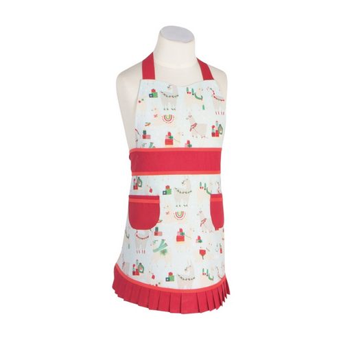 Now Designs APRON SALLY FA LA LA LA LLAMA