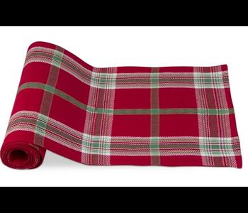 TABLECLOTH 60x84 JOYFUL PLAID RED/GREEN