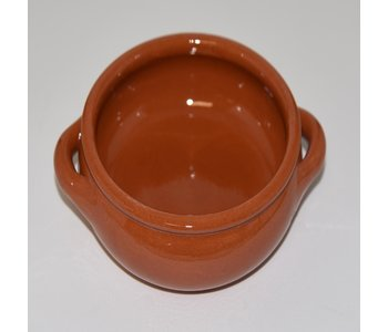 """TRADITIONS - Clay Double Handle Bowl 5.5""""x5.5""""x2.2"""""""