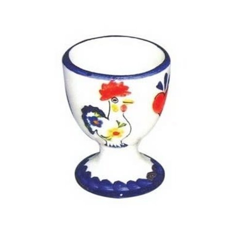 PORTUGAL IMPORTS EGG CUP ROOSTER VIVA
