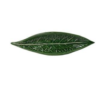 """VINTAGE CABBAGE Long Leaf Dish  13"""""""