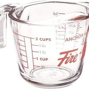 Anchor Hocking Measuring Cup 2cup Fire King
