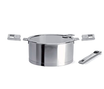 CRISTEL 1 Qt Saucepan with stainless steel handle set