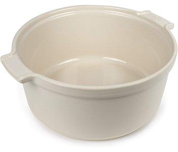 "APPOLIA Souffle Dish Ecru  22cm/8.6"""