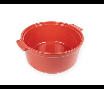 "APPOLIA Souffle Dish Red 8.6"""