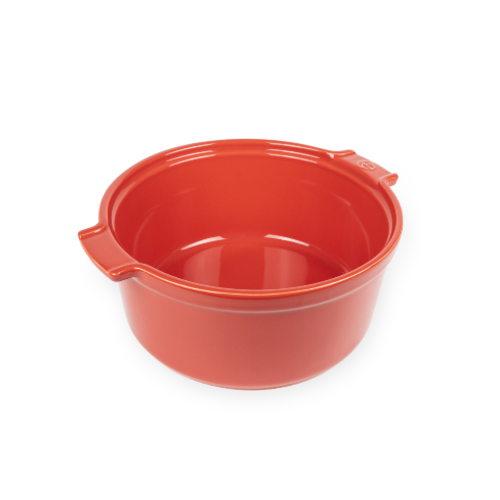 Peugeot APPOLIA Souffle Dish Red 8.6""