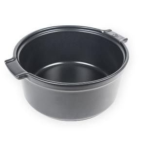 "Peugeot APPOLIA Souffle Dish Slate  8.6"""