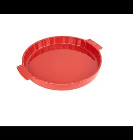 "Peugeot APPOLIA Red Tart Dish 11.5"""