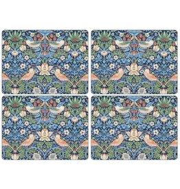 Pimpernel Placemats Morris Strawberry Thief Blue Set/4