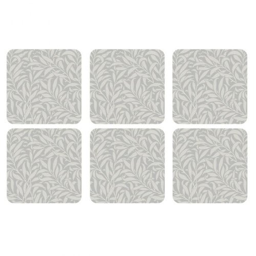 Pimpernel Coasters Pure Morris Willow Bough/ Set of 6