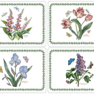 Pimpernel Placemats Botanic Garden  Set/4 Pimpernel