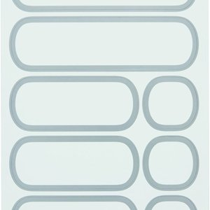 OXO OXO POP Acces REMOVABLE LABELS (32 COUNT)