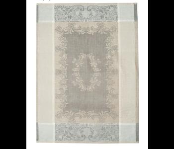 Tea Towel Majesty Flax, Castor Grey & White