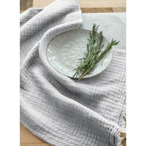Linenway Tea Towel Hampton, Silver Grey Linen