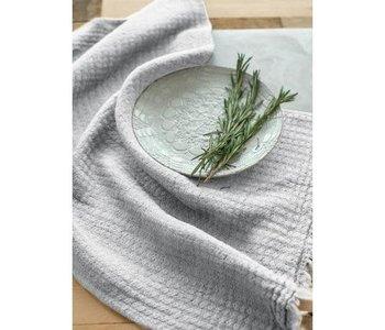 Tea Towel Hampton, Silver Grey Linen