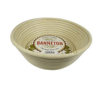 "BANNETON Angled Round Basket 10""x3"""
