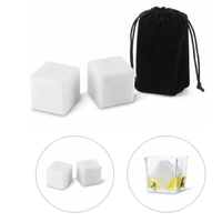 Marble Ice Cubes with Pouch Extra Large Size