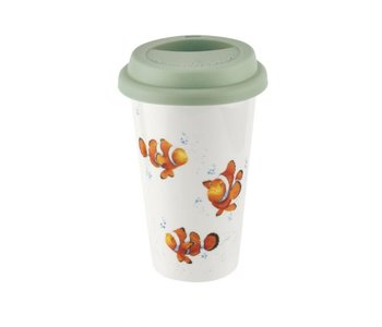 WRENDALE Travel Mug CLOWN FISH