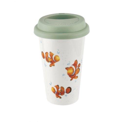 Wrendale WRENDALE Travel Mug CLOWN FISH