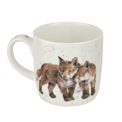 Wrendale WRENDALE MUG Born to Be Wild Foxes
