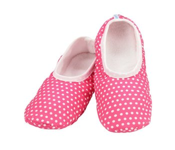Snoozies Slippers Mixed Pink with Dots Extra Large