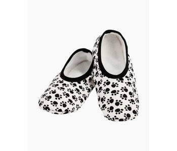 Snoozies Slippers Mixed Paws Extra Large