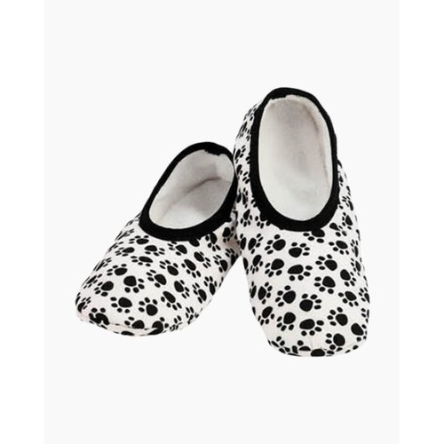 Snoozies Snoozies Slippers Mixed Paws Extra Large