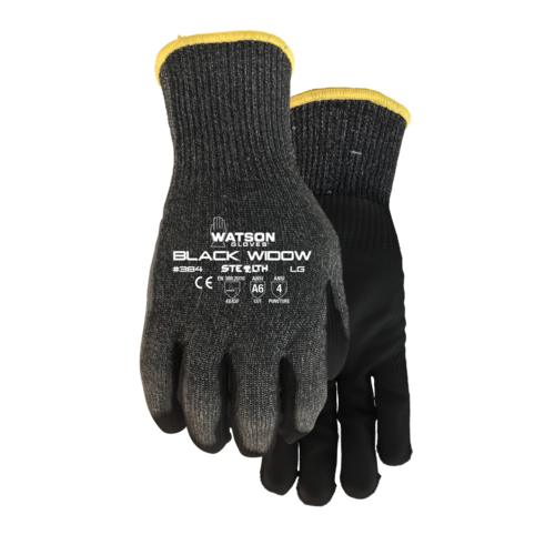 Watson Gloves GLOVES Cutting Black Widow EXTRA LARGE