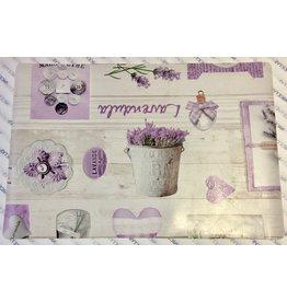 Texstyles Deco PLACEMAT VINYL Provence Lavender