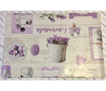 PLACEMAT VINYL Provence Lavender