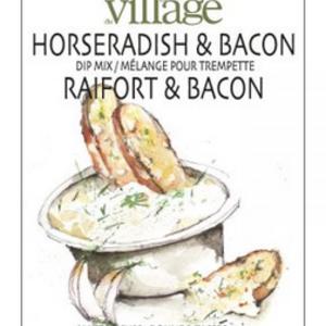 Gourmet du Village DIP RECIPE BOX HORSERADISH BACON