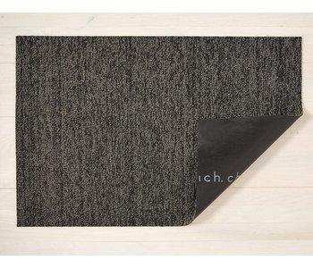 Doormat Heathered SHAG Black/Tan 18x28 inches