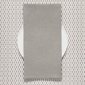 Chilewich Napkin Linen PALE GREY