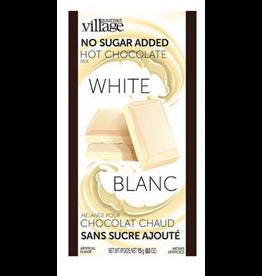 Gourmet du Village Hot chocolate single NO SUGAR WHITE