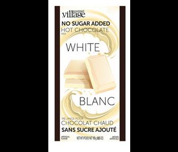 Hot chocolate single NO SUGAR WHITE