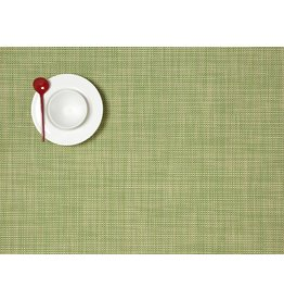 Chilewich Placemat Rectangle Mini Basketweave DILL